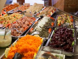 Crudités et légumes cuisinés