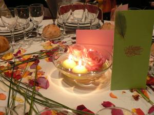 Décoration tables Bastide de Jaillans