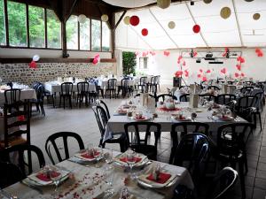 Tables réception Château de Blagneux