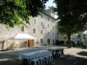 Cour Château des Anges