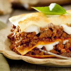 Plat cuisiné lasagnes au choix viance, poisson ou légume