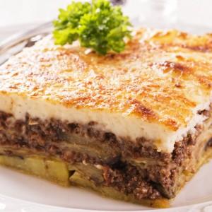 Plat cuisiné Moussaka